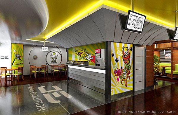 Дизайн сетевого ресторана японской кухни «Japan Evolution»
