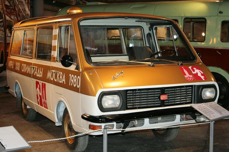 RAF 2907 Olympic torch car 1980
