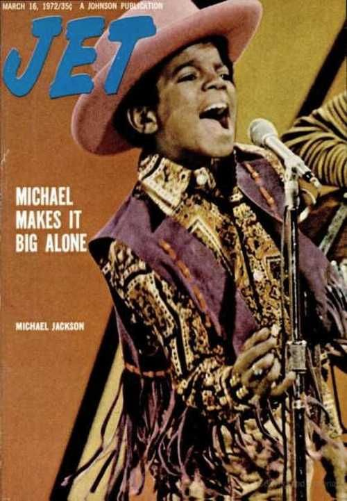 """""""superseventies:  Michael Jackson on the cover of Jet magazine, March, 1972.  """""""