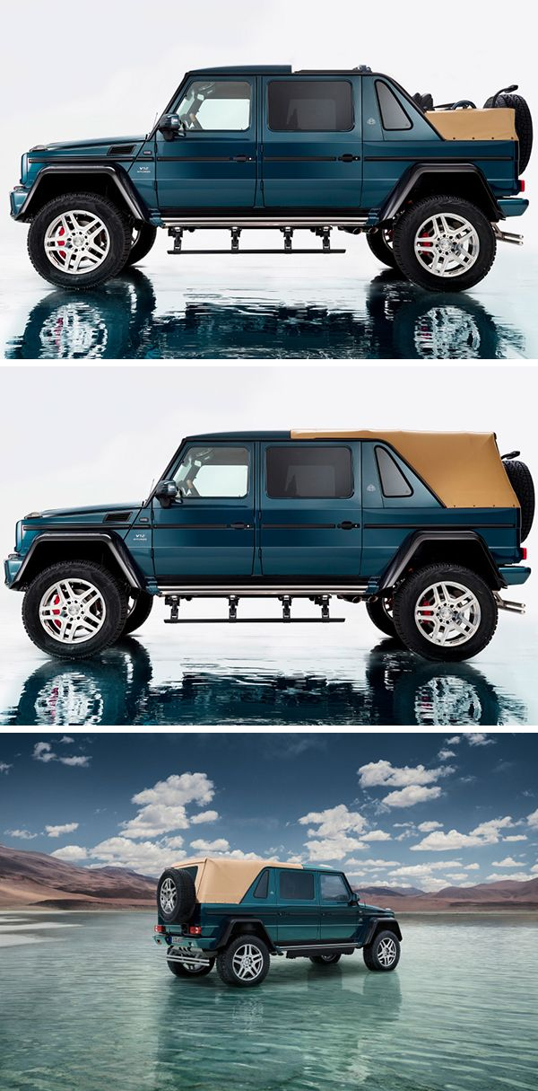 Definition of unique luxury. [Mercedes-Maybach G 650 | Fuel consumption combined: 17.0 l/100km | combined CO₂ emissions:  397 g/km | http://mb4.me/efficiency_statement]