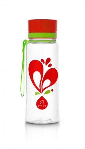 EQUA BPA free bottle Heart