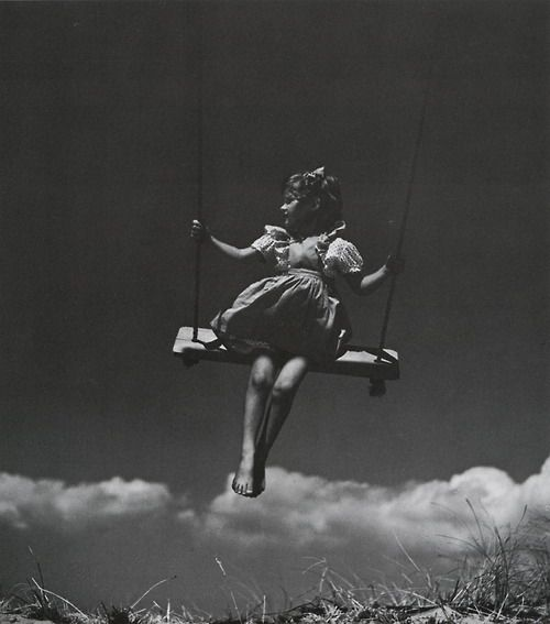 Girl on a Swing ~ Toni Frissell, 1907-1988