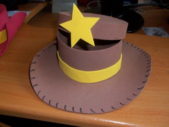 Cowboy hat favor boxes $2.50