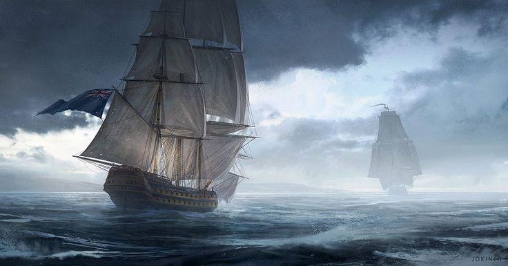 HMS Vanguard by artofjokinen