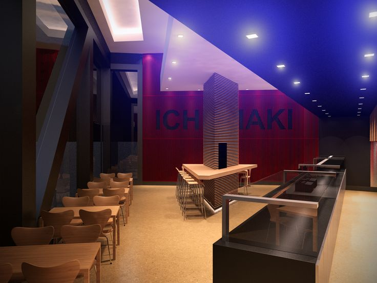 Ichi Maki Restaurant Melbourne. Design: Peter Carman