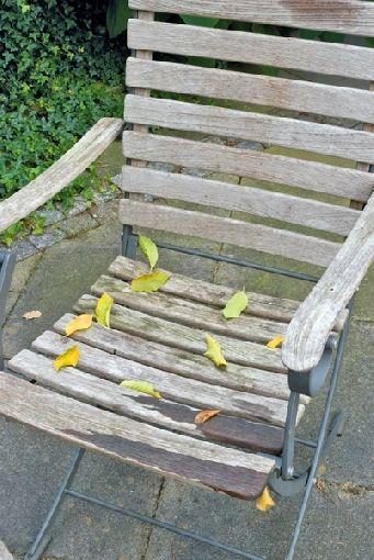 Gartenmobel Holz Alu Set : Gardenplaza  Ergrautes Teakholz einfach auffrischen  Frischekur für