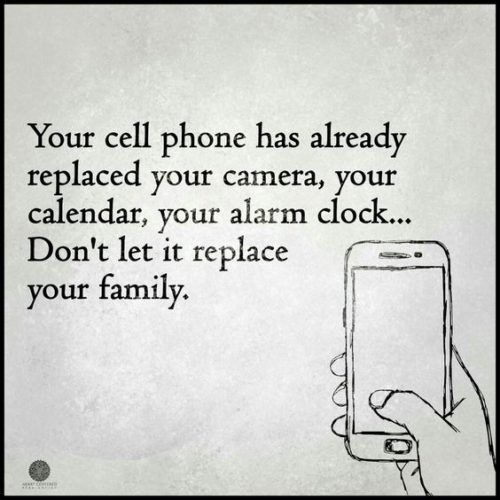 Where do YOU draw the line with your cell phone?