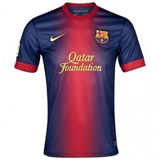 Barça Home Shirt 2012-13