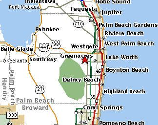 Map West Palm Beach Wellington Florida Wellington Florida Zip