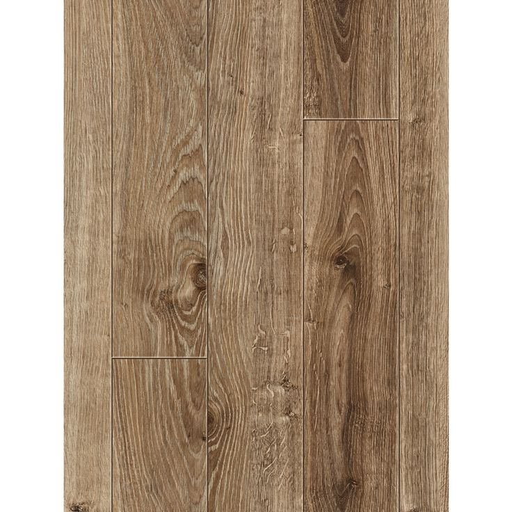 Shop allen + roth 4-in W x 50-3/4-in L Handscraped Driftwood Oak Laminate Flooring at Lowes.com    Flooring in Gym / Guest Room