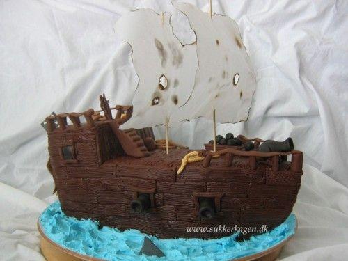 Kaptein Sabeltann-kake....