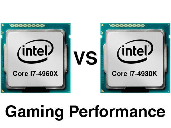 Intel Core i7-4960X vs Intel Core i7-4930K DDR3-2400 Gaming-Performance - CPUs - Reviews : ocaholic
