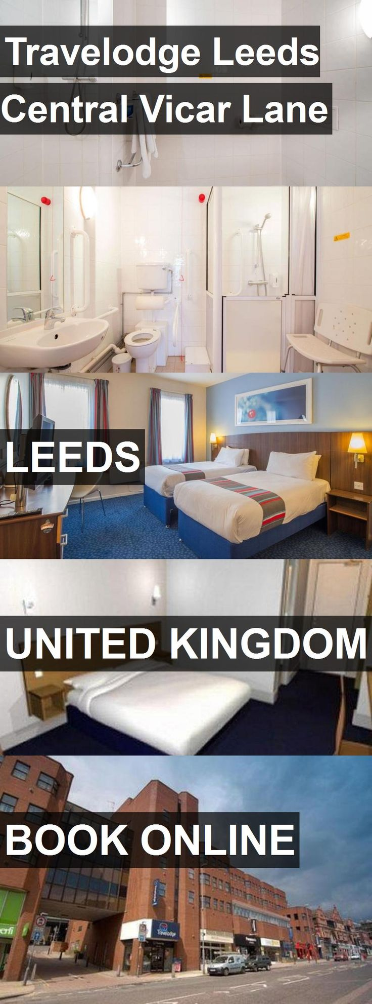 Hotel Travelodge Leeds Central Vicar Lane in Leeds, United Kingdom. For more information, photos, reviews and best prices please follow the link. #UnitedKingdom #Leeds #travel #vacation #hotel