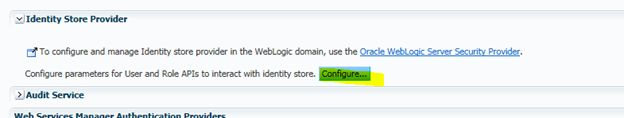 How to integrate Oracle BI Publisher and LDAP in WebLogic server