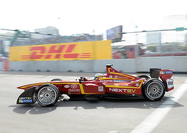 March 14 2015 Charles Pic during the FIA Formula E race in Downtown Miami Florida