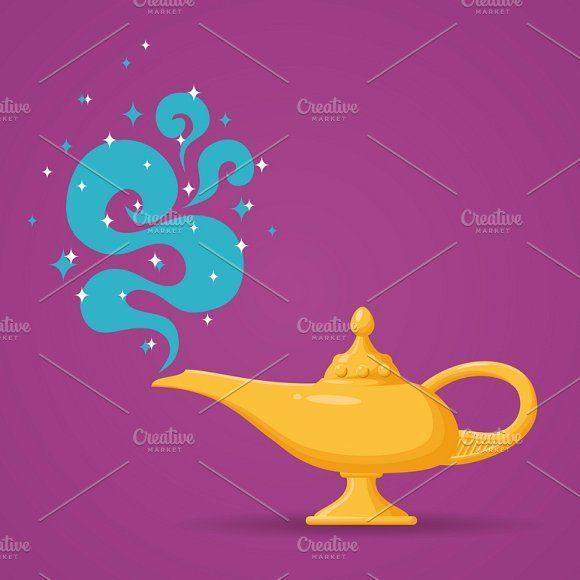 Magic Lamp Or Aladdin Magic Lamp Aladdin Art Aladdin Lamp
