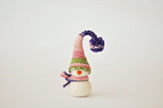 Ready to ship  Needle felted Christmas decoration  by ShpilkaFelt, $26.00