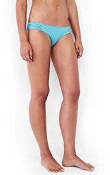 Lands' End Women's Soft Side Bikini Bottoms-Light Turquoise