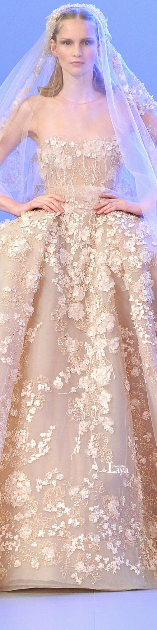 Elie Saab ~ Couture Spring Wedding Gown 2014