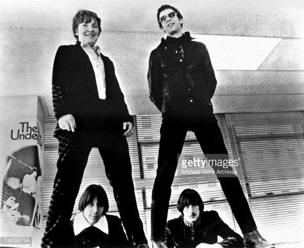 News Photo : Maureen 'Moe' Tucker and Lou Reed and John Cale...
