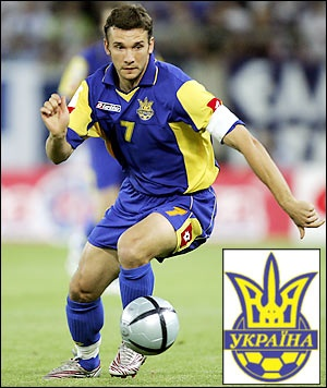 Andriy Shevchenko - Go Team Ukraine!!