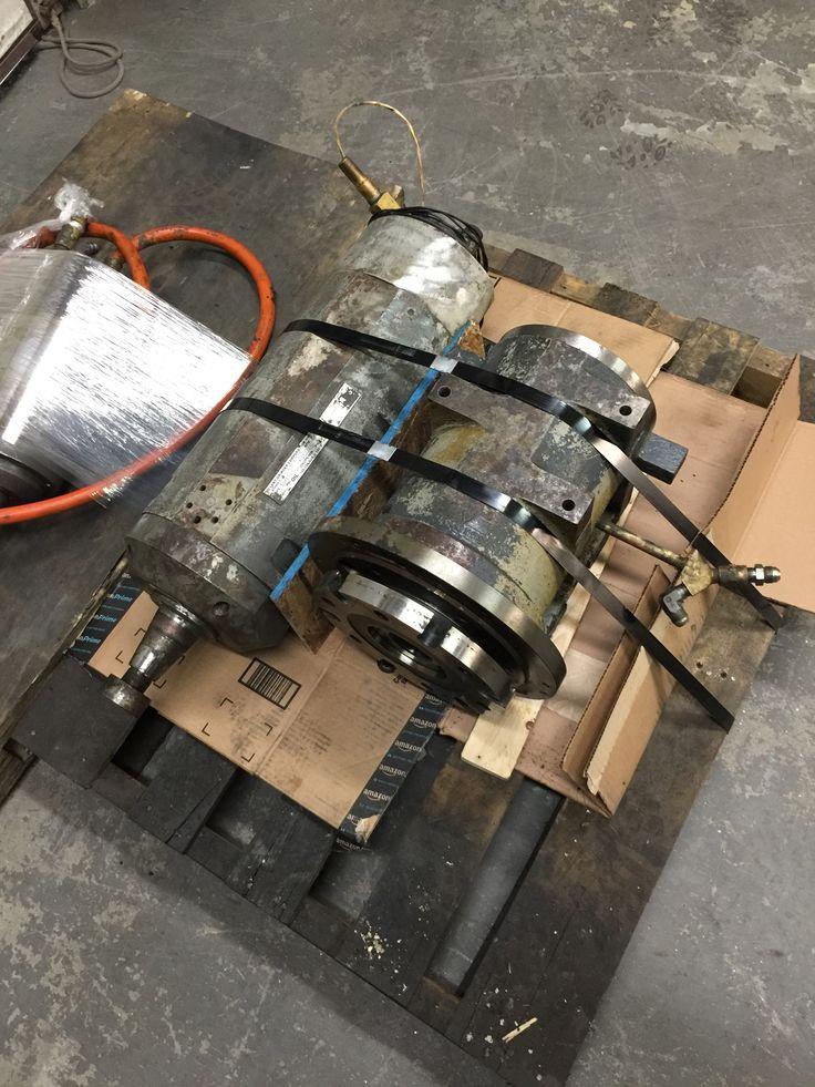 Just received 3 more Bryant grinding spindles for repair.  #spindlerepair