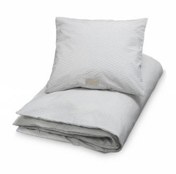 Grey wave økologisk VOKSEN sengetøj fra CamCam