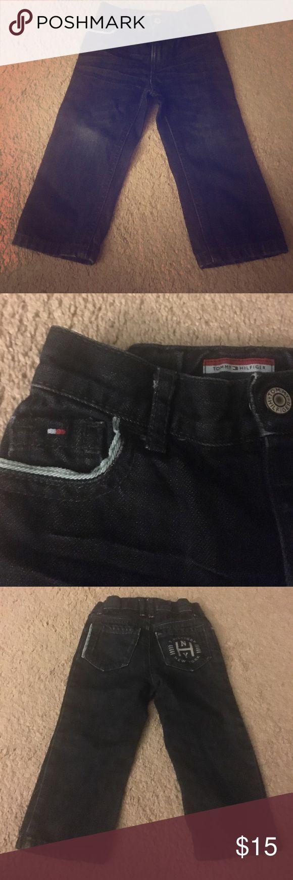 Kids Tommy Hilfiger Jeans Kids Tommy Hilfiger Jeans! Never been worn!! PERFECT condition!! SO cute!!! Tommy Hilfiger Bottoms Jeans