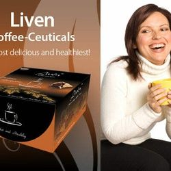 Liven Coffee- Ceuticals Manufactured By Natures Way The most delicious and healthiest and the 1st Alkaline Coffee Price AU$18.00 It contains 20 sachets in 1 box