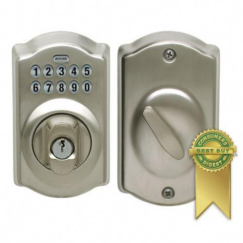Stoneybrooke Story Blogger Chooses Schlage Electronic Keypad Door Lock For Her New Home S Front Door Frontdoor Schlage Smart Door Locks Keypad Door Locks