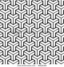 Black & White - Penrose Triangles