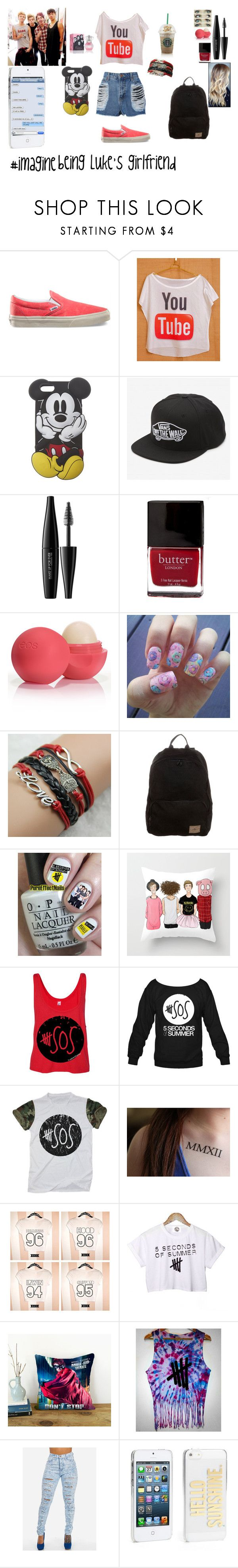 """""""Geen titel #169"""" by nina-niallhoran ❤ liked on Polyvore featuring Vans, By eLUXE, INDIE HAIR, Wet Seal, MAKE UP FOR EVER, Butter London, Eos, O'Neill and Kate Spade"""