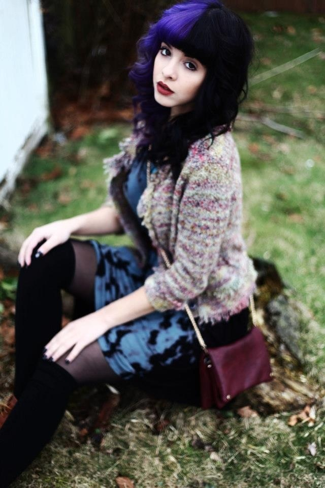 Melanie Martinez is so pretty! shes a great singer too, i just wish she would keep her hair one color