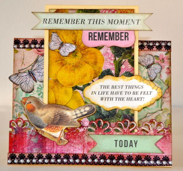 A step card made using the Be-YOU-tiful collection from kaisercraft by Kelly-ann Oosterbeek.