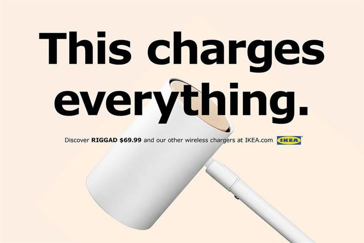 Check out Ikea's hilarious ads for wireless charging lamps focused directly on iPhone users - Phone Arena    Phone ArenaCheck out Ikea's hilarious ads for wireless charging lamps focused directly on iPhone usersPhone ArenaFurniture retailer Ikea is known more for the Swedish meatballs in its in-store restaur…