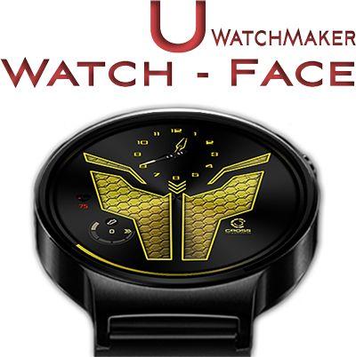 The Yellow Jacket Watch-Face [U-wmwatch]