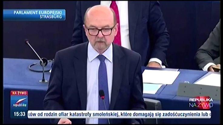 Prof.Legutko pozamiatał dzisiaj debatę w PE, brawo!