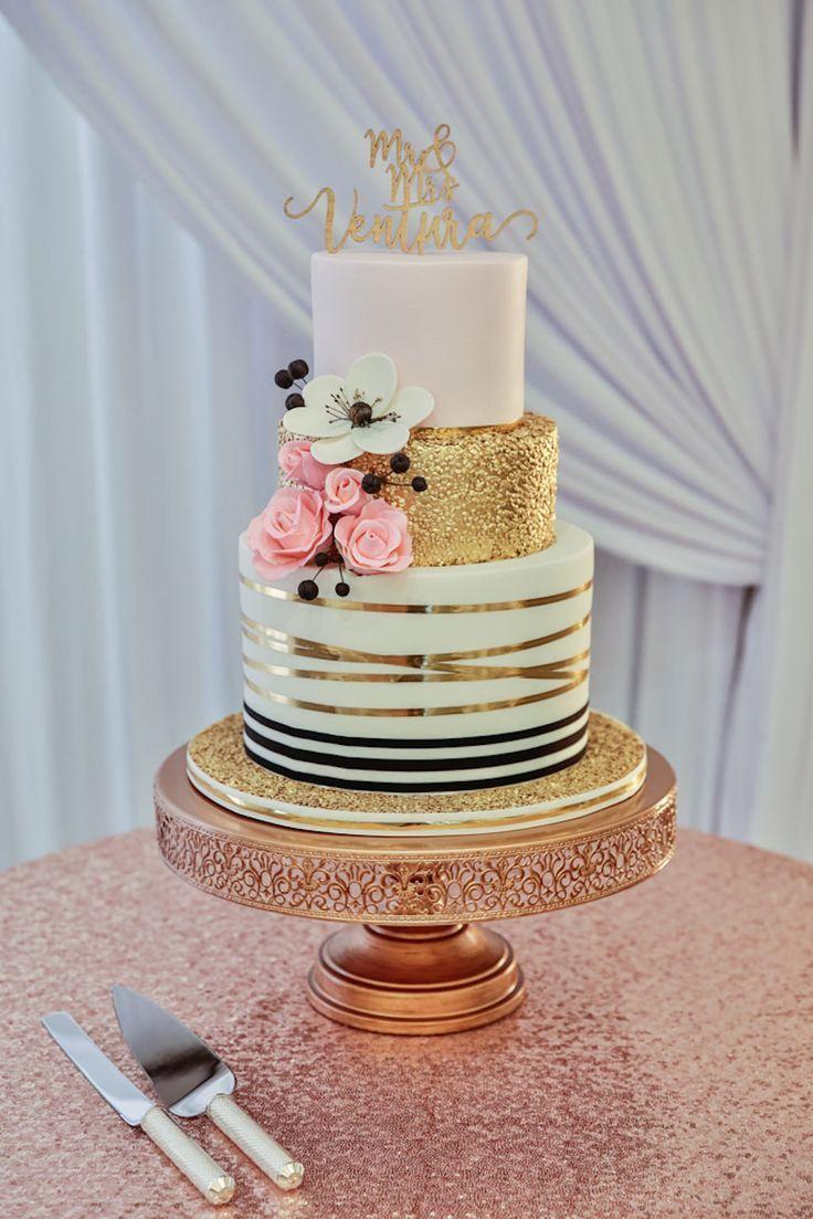 Elegant Rose Gold Ballroom Wedding Wedding Ideas Wedding