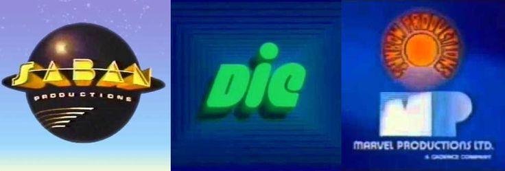 DIC: The Littles, Inspector Gadget, Ghostbusters, Beverly Hills Teens, COPS; Saban Entertainment: Kidd Video, Care Bears, Heathers (movie,) Sweet Valley High, VR Troopers/Power Rangers, Goosebumps, Don't Look Behind You (movie;) Sunbow Productions: G.I. Joe, Transformers, Jem; Marvel Productions: Dungeons & Dragons.