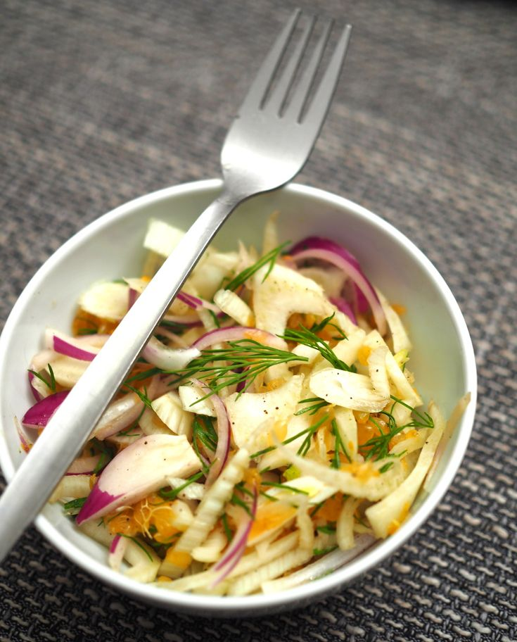 Fennel Salad // Fenchel Salat