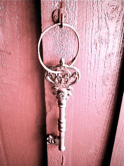 The key to the pink door