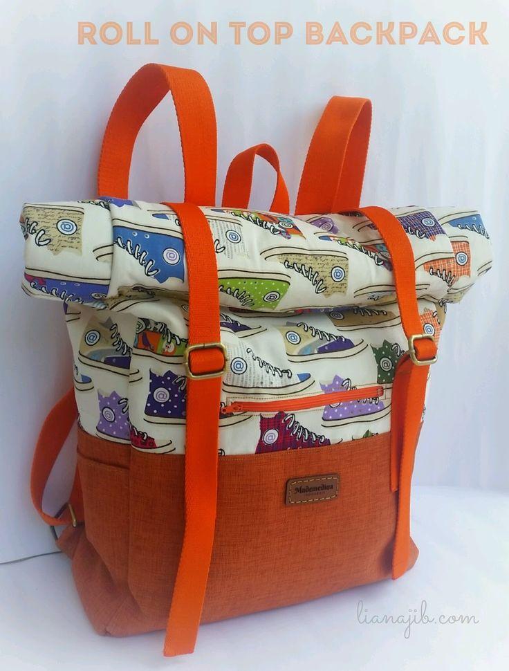 Diy backpack roll top