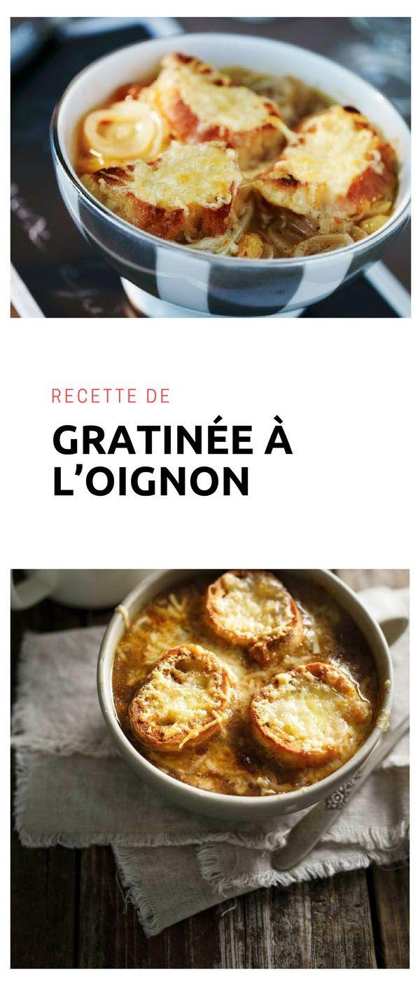 #soupe #gratinée #oignon