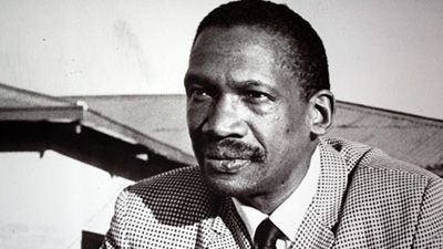 Robert Mangaliso Sobukwe 1924-1974  Here is a tree rooted in African soil, nourished with waters from the rivers of Afrika. Come and sit under its shade and become, with us, the leaves of the same branch and the branches of the same tree. Sons and Daughters of Afrika, I declare this inaugural convention of the Africanists open.  RMS
