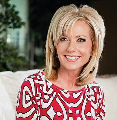 My hairstylist is gonna kill me! I want to grow my hair out again and I REALLY like Beth Moore's hairstyle :)