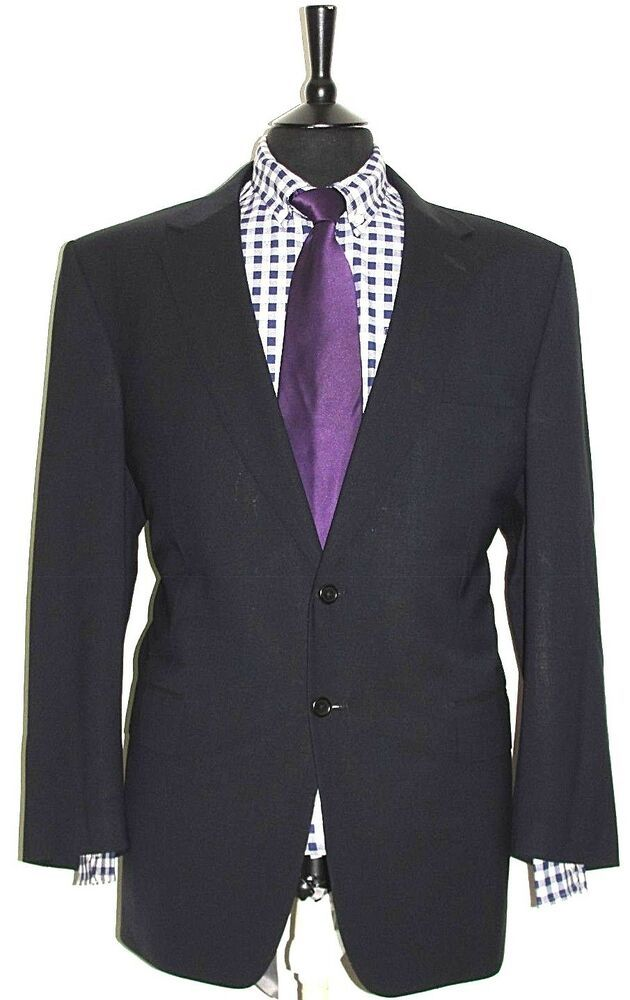 Ebay Sponsored Luxury Mens Austin Reed Bespoke Made Navy Suit 46r W40 L31 5 Navy Suit Tailor Made Suits Clothes