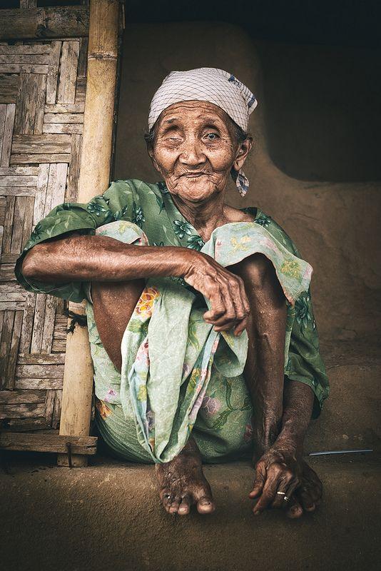 Portrait of Sasak Woman