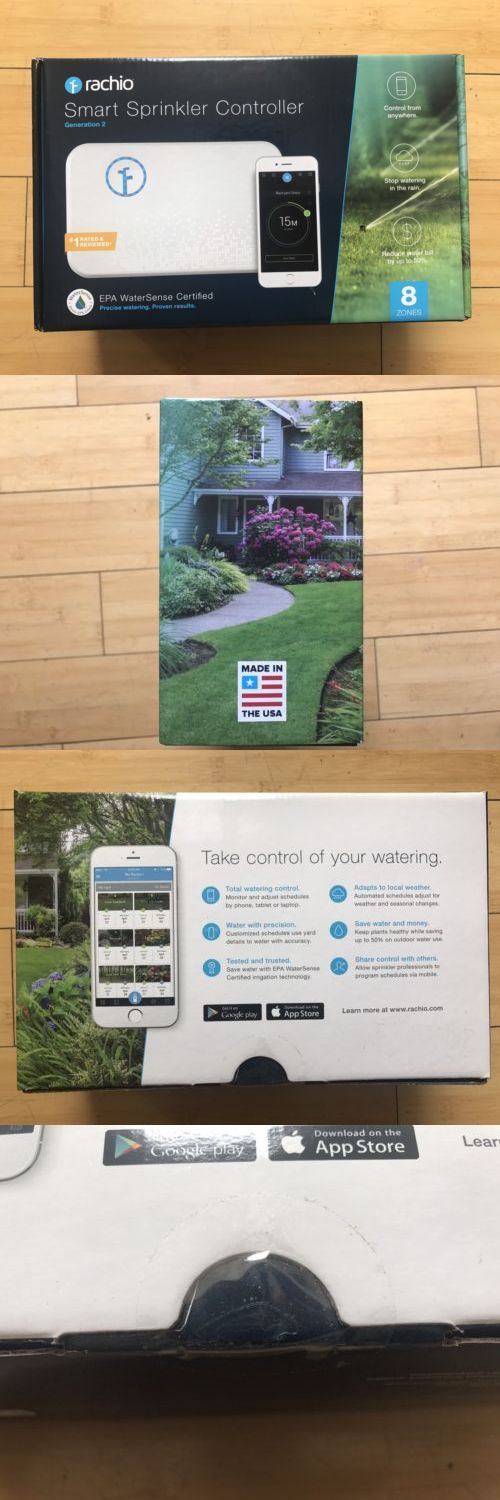 Watering Timers and Controllers 75672: Rachio Smart Sprinkler Controller 8 Zone 2Nd Generation Works With Alexa New -> BUY IT NOW ONLY: $160 on eBay!