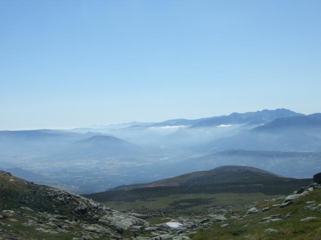 Vistas de Gredos desde el Tremedal.