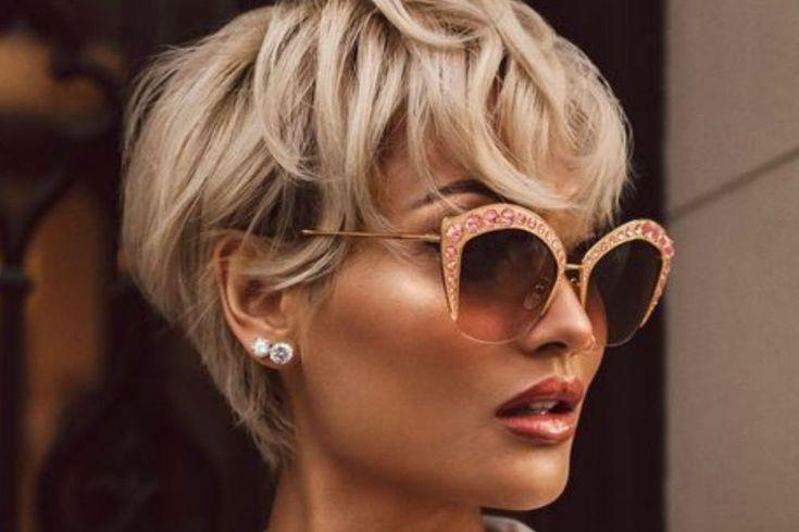 Les plus belles coupes courtes de 2020 | Coupe courte cheveux fins, Modele coiffure cheveux ...
